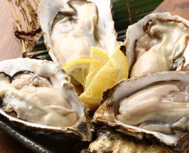 名物の牡蠣に選べる味6種が新登場!生牡蠣は原価挑戦の1個130円(税抜)新登場の牡蠣は300円(税抜)~ご提供